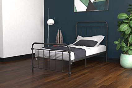 Amazon Com Dhp Winston Metal Bed Frame Multifunctional Piece With