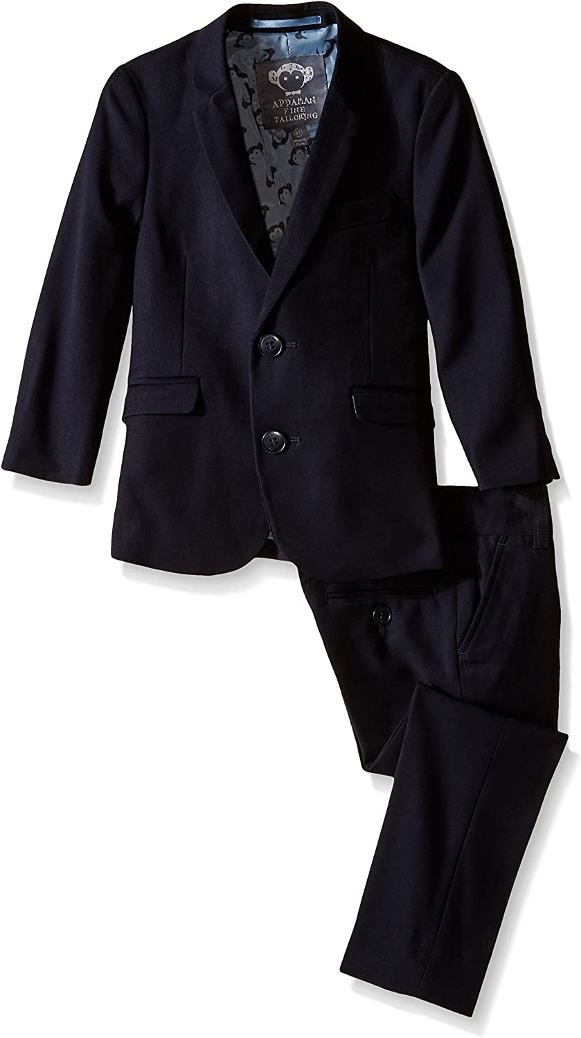 Appaman Big Boys Two Piece Classic Mod Suit In Navy Blue