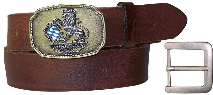 FRONHOFER cinturón de traje bávaro, caballero, hebilla con ...