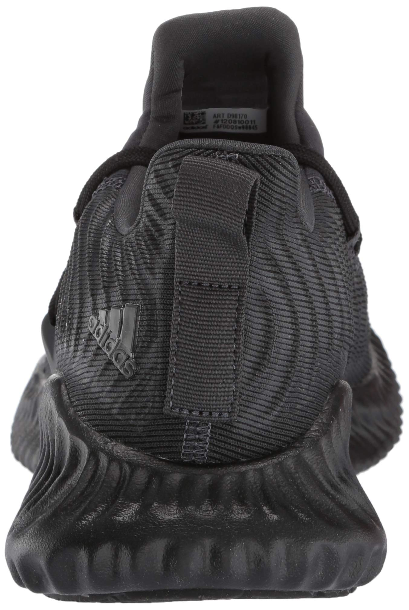 Adidas Kids Alphabounce Instinct, Carbon/Core Black/Carbon, 2 M US Little Kid by adidas (Image #2)