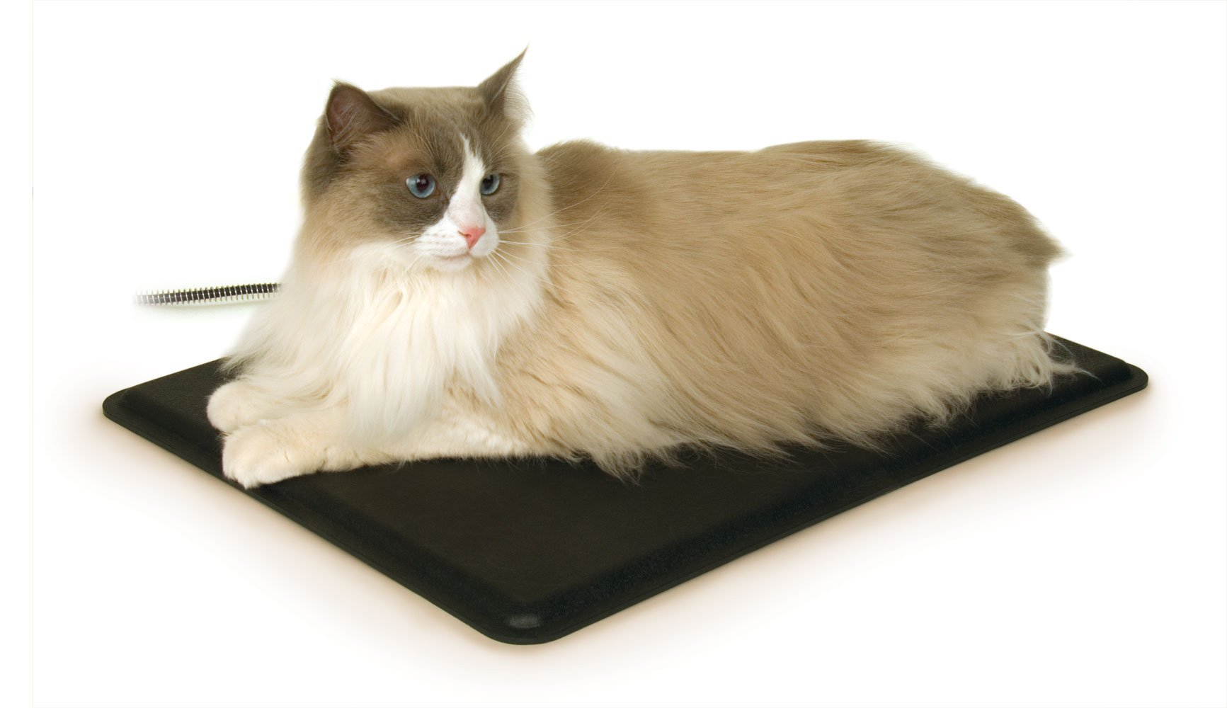 K&H Pet Products Extreme Weather Kitty Pad Black 12.5'' x 18.5'' 40W