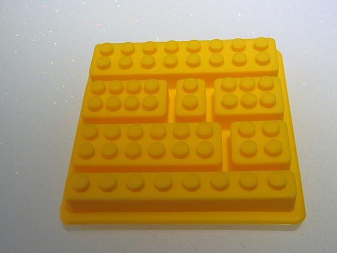 GKA 4er Set Backform Eiswürfelbereiter Pralinenform Eiswürfelform Lego Bausteine Fondant Schokolade