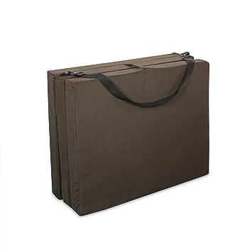 American Furniture Alliance Hide Au0027 Mat 3.5 X 30 X 75 Inch Jr Twin TriFold