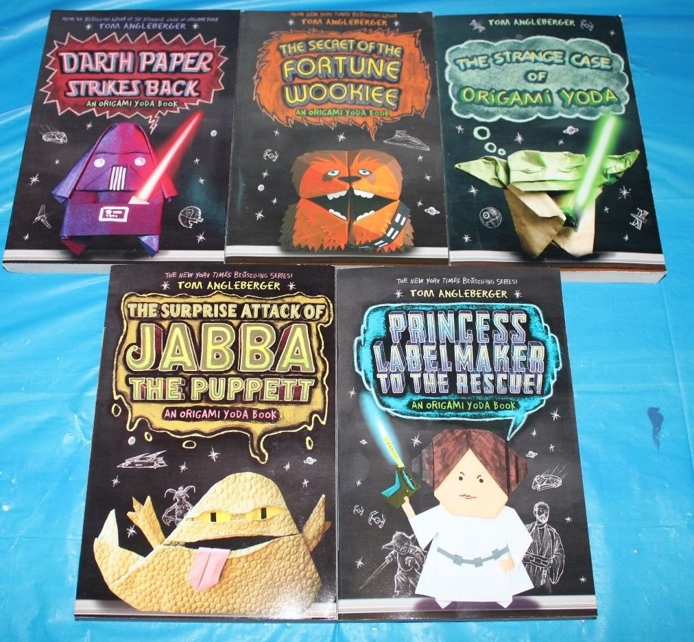 Origami Yoda Series: 5 Book Set PDF