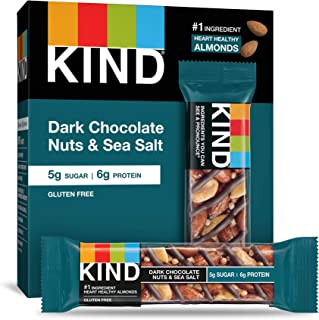 product image for KIND Bar, Dark Chocolate Nuts & Sea Salt, 1.4 Ounce, 6 Bars (Pack of 10)