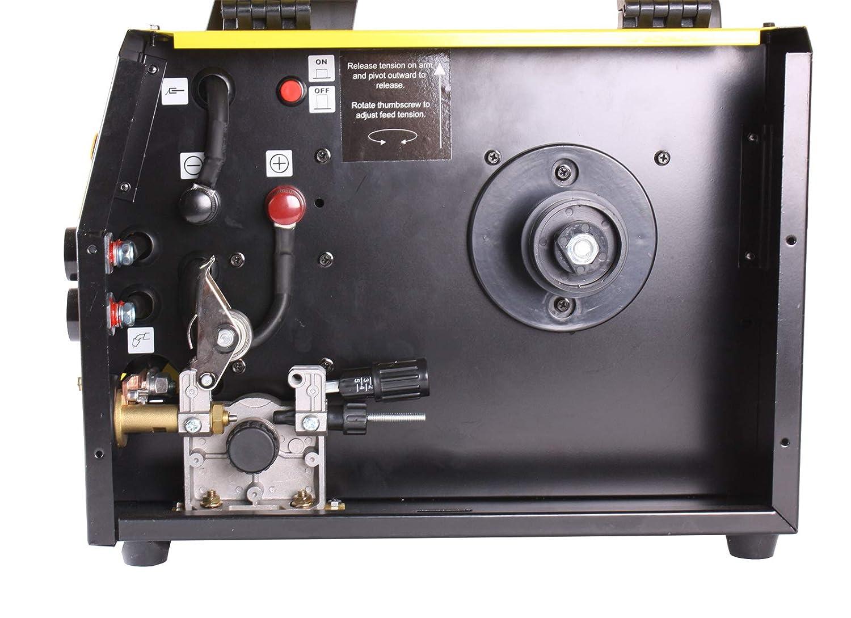WELDINGER MIG//MAG Schwei/ßinverter M 160 eco 160 A Elektrodenfunktion auch F/ülldraht