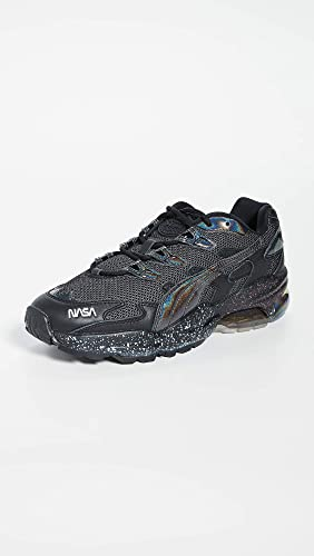 PUMA Mens X NASA Cell Alien X Space Agency Black Low Top