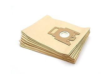 vhbw 10 bolsa papel para aspirador robot aspirador multiusos ...