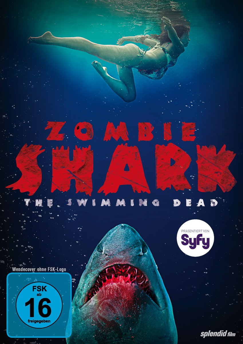 Zombie Shark (2015) Hindi Dual Audio UNRATED 480p BluRay x264 ESubs 350MB