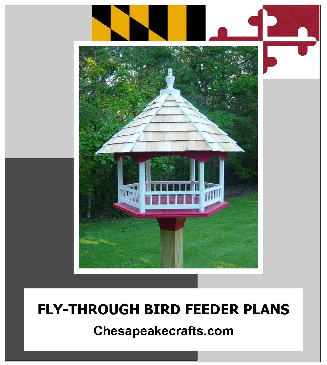 how to build roof of bird feeder