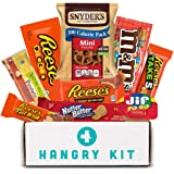 Blue HANGRY KIT - Peanut Butter Delight Kit - Great Gift - Care Package - Snack Pack - Filled with 9 Peanut Butter items that