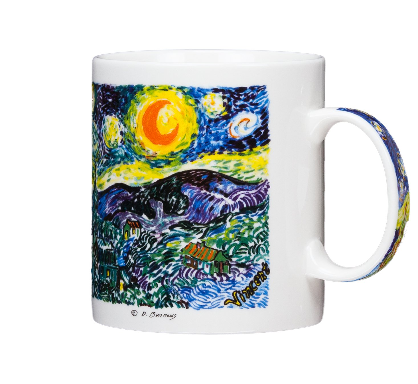 Amazon Vincent Van Gogh The Starry Night 14oz Coffee Mug