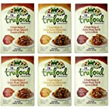 Wellness TruFood Grain Free Natural Dog Food Complement 3 Flavor Variety 6 Pouch Bundle: (2) Chicken Beef Carrots, (2) Chicken Liver Broccoli, and (2) Chicken Salmon Pumpkin, 2.8 Oz. Ea. (6 Pouches)