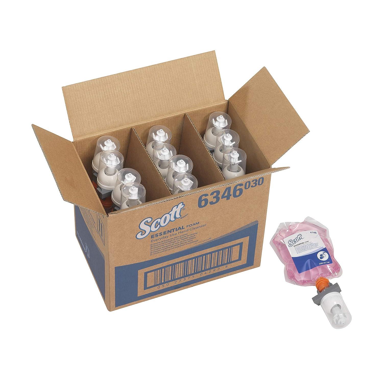 rosa Scott Essential Jab/ón de manos en espuma para uso diario 6346 12 x 200 ml 2400 ml en total