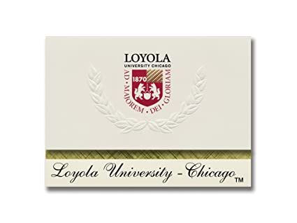 amazon com signature announcements loyola university chicago