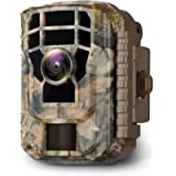Campark Mini Trail Camera 16MP 1080P HD Game Camera Waterproof Wildlife Scouting Hunting Cam with 120° Wide Angle Lens…