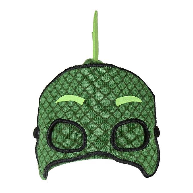 [Pj Masks Gekko - Talle único] Characters Cartoons - Gorro con Máscara - para