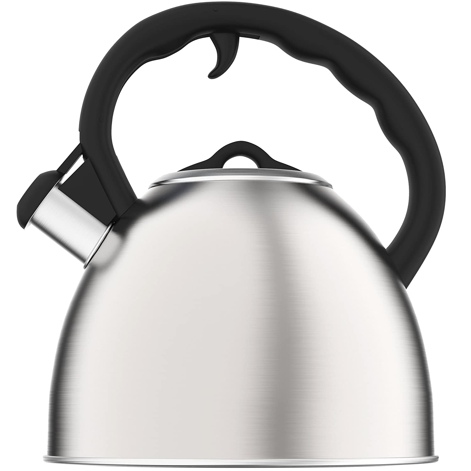 amazoncom vremi whistling tea kettle for stovetop   quart tea  - amazoncom vremi whistling tea kettle for stovetop   quart tea potstainless steel tea kettle for electric or gas stove top  cool cute moderntea kettle