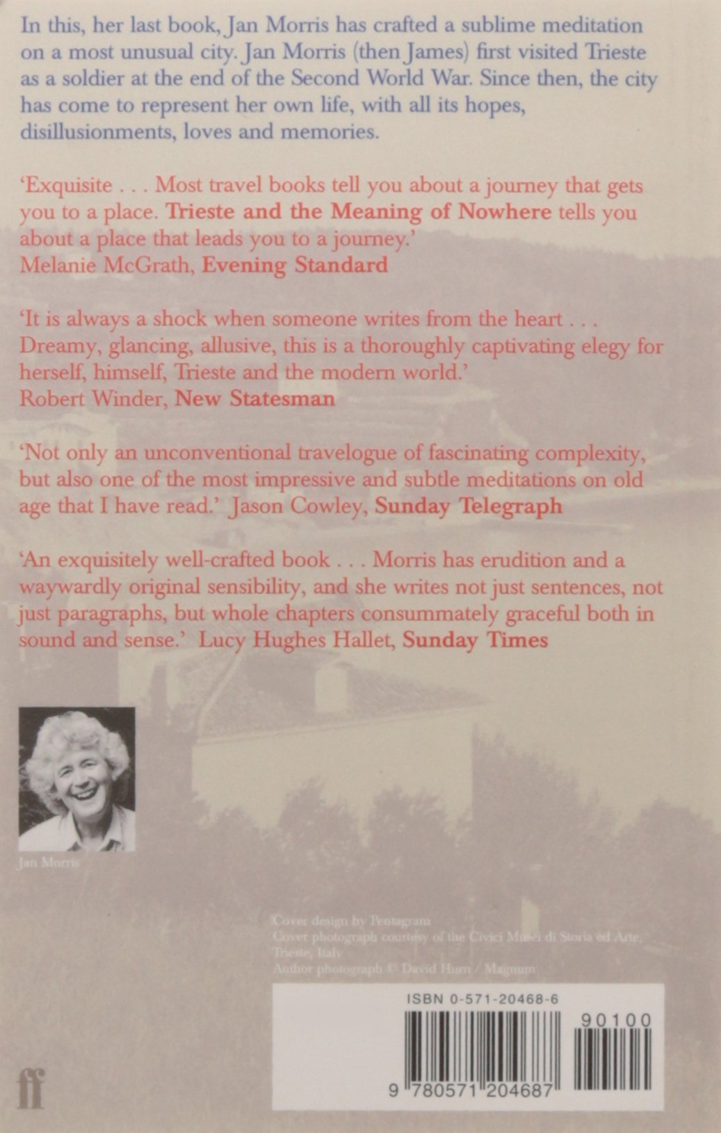 Trieste And The Meaning Of Nowhere: Amazon: Jan Morris:  9780571204687: Books