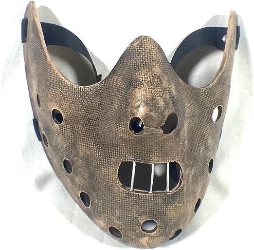 Máscara de Hannibal Lecter, de El silencio de los corderos: Amazon.es: Hogar