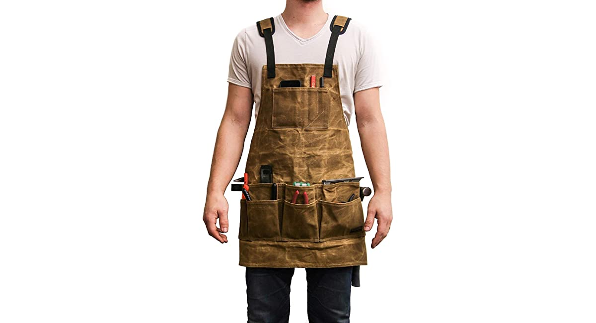 woodworking shop apron