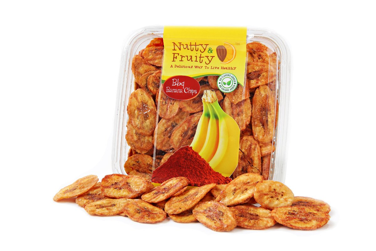 Caramelized Banana Chips BBQ