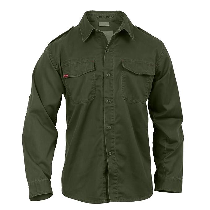 Amazon.com  Army Universe Olive Drab Vintage BDU Fatigue Shirt 2568 ... b6cf7576b