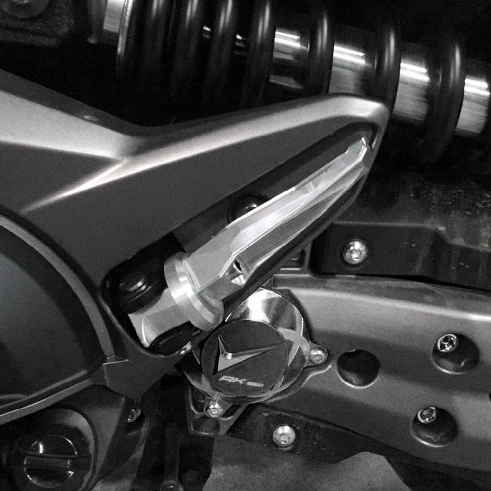 AK550 Trasmissione Anteriore Copertura Albero Fronte Telaio Foro Drive Tappo CNC Alluminio Coperchio Guardia Moto per KYMCO AK550 AK 550 AK-550 2017 2018