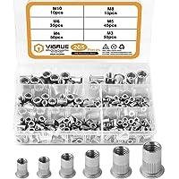Deals on VIGRUE 205PCS 304 Stainless Steel Rivet Nut Assort Set