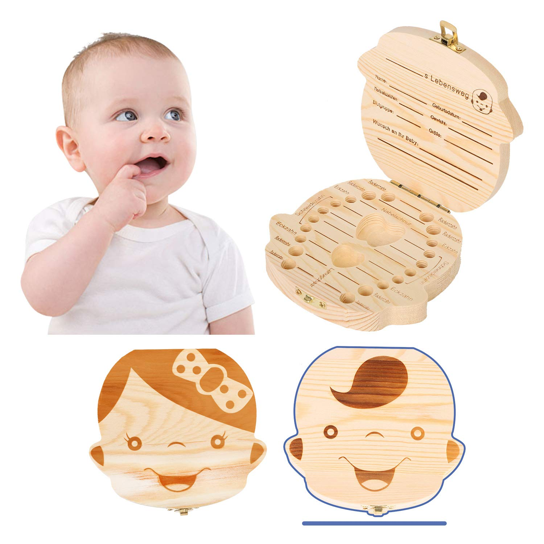 Caja para dientes de leche con pinzas y hada de dientes Junge Wirezoll
