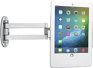 CTA Digital PAD-AWSEA Articulating Wall Mounting Security Enclosure for iPad Air/iPad Pro 9.7/iPad (Gen. 5-6) Silver