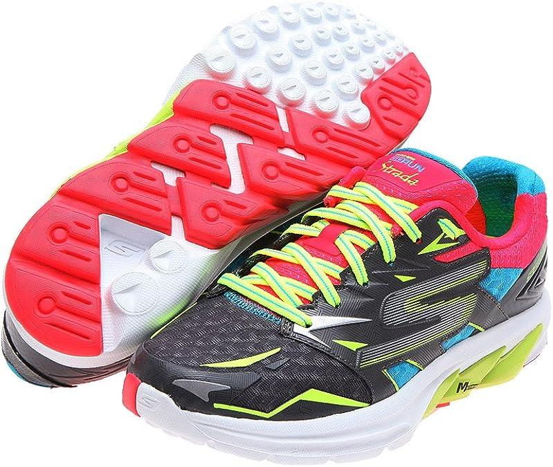 Skechers Go Run Strada Las Zapatillas de Running: Amazon.es ...