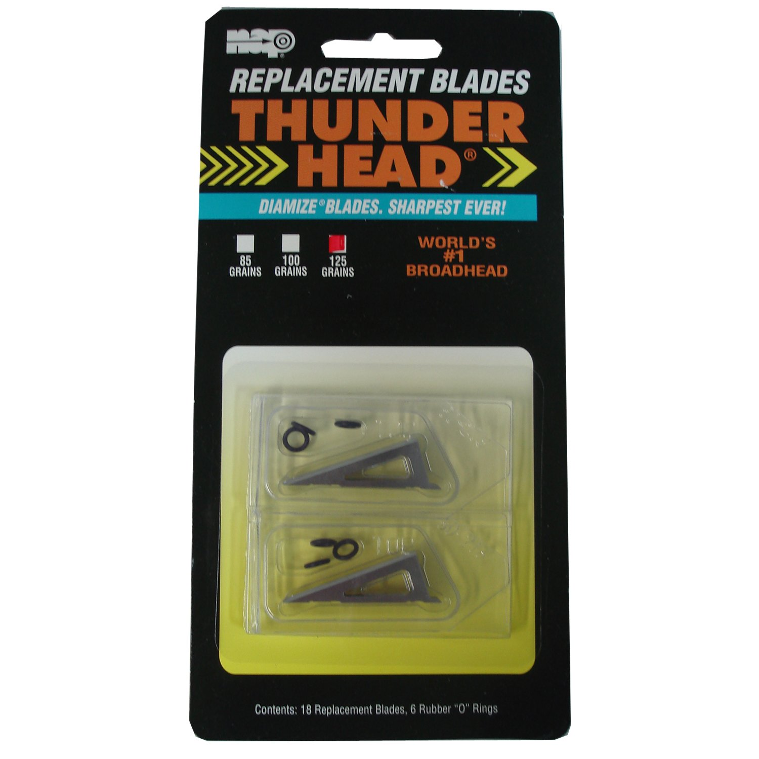 New Archery Products 125 Grain 18-Pack Thunderhead Replacement Blades