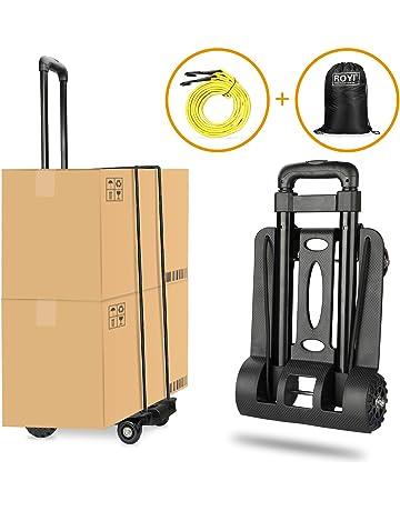 Carretilla plegable Wilbest, Carritos porta equipajes con 4 ruedas Carga máxima 70 kg/165
