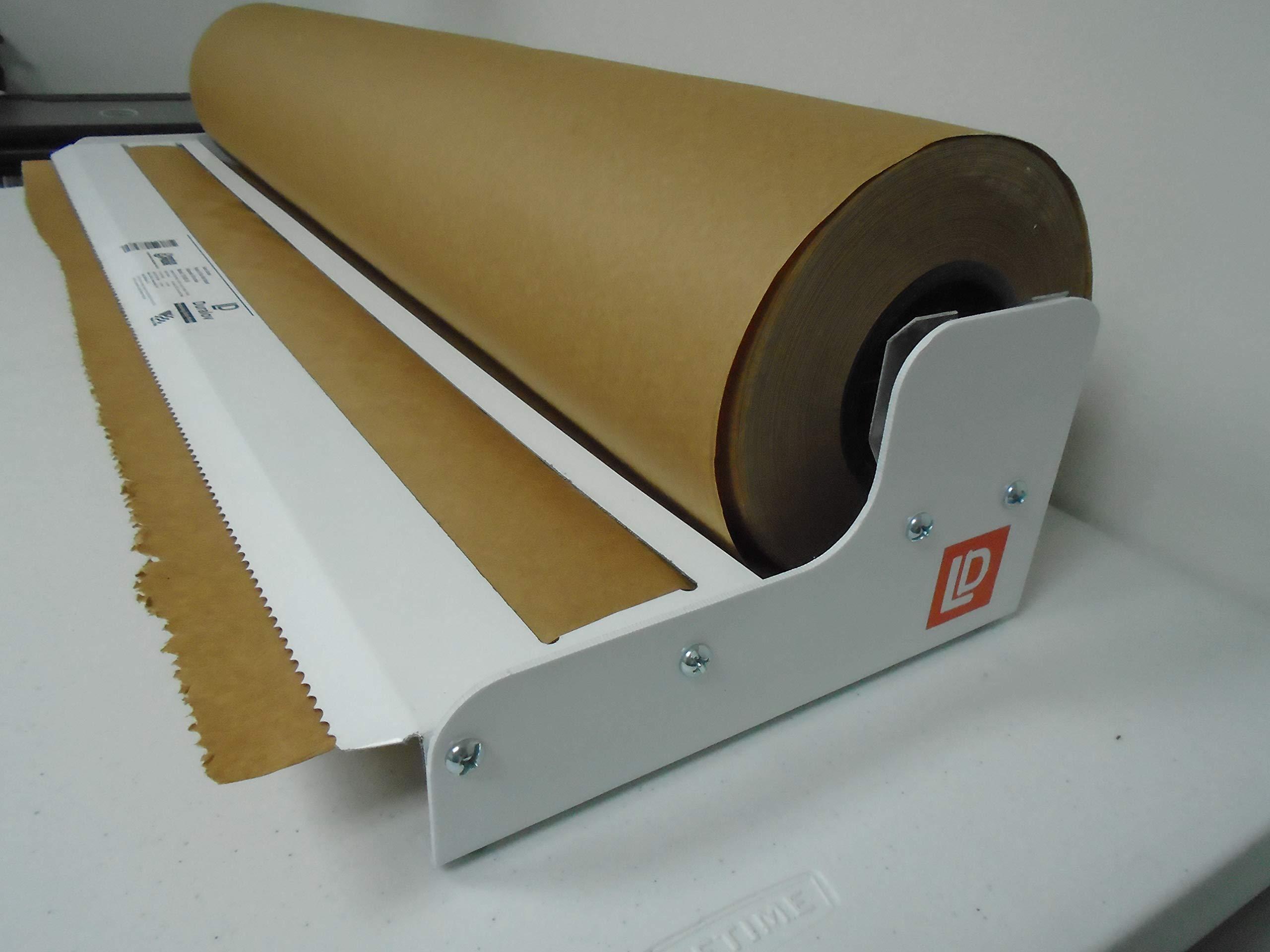 Paper Cutter Roll Dispenser Tekno Series 36 inches Table Mount Kraft Paper Duralov