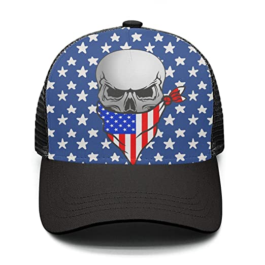 BIKER Pirate SKULL With Face Bandana Street Dancing Snapback hats BIKER  Pirate SKULL Cap f04a463a3b7
