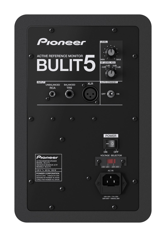 Back facing Pioneer BULIT5
