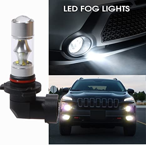 alloggiamento in alluminio 2/pz auto luci diurne a LED bianco luci