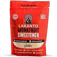 Lakanto Monkfruit 1:1 Sustituto de azucar No-GMO (Golden 454 gramos)