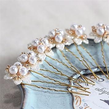 Koreanische Hochzeit Haarkämme mit Strass Perlen Braut Haarschmuck für