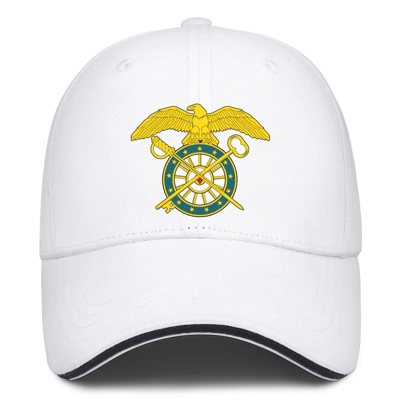 Quartermaster Corps Logo Baseball Caps Awesome Baseball Hat Mens Adjustable Snapback Ball Caps for Men