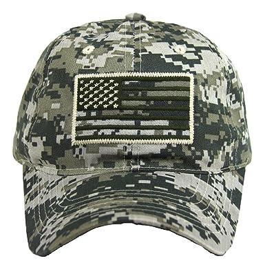 flag baseball cap military army operator adjustable hat acu camo