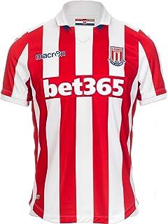 Macron 58077090 FC Stoke City Shirt Jersey Camiseta Camiseta Home 2016/2017