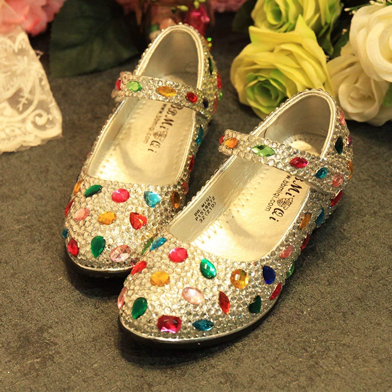 ZHRUI Damen Mary Jane Style Strass Low Heel Pumps Hochzeit Pumps Heel Schuhe UK 7 (Farbe   -, Größe   -) 5ca8ba