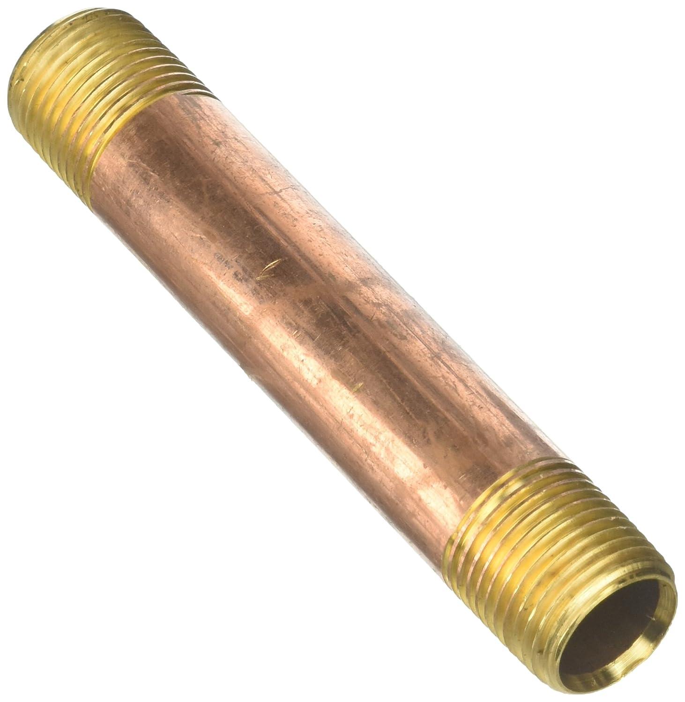 Long Nipple 1//2-14 x 1//2-14 Tompkins 3327-08-08-4.5 Pipe Fitting Brass