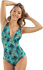 b4997f9dd43d6 Leonisa Brocade One-Piece Slimming Slimsuit