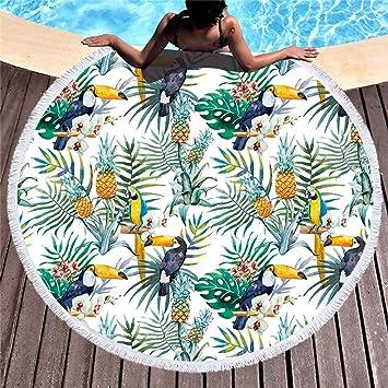 Stillshine Toalla de Playa/Toalla de Piscina Grande para Hombre o Mujer 3D Toalla Tipo Tapiz Pareo ...