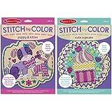 Melissa & Doug Stitch by Color Stitch Craft Kit