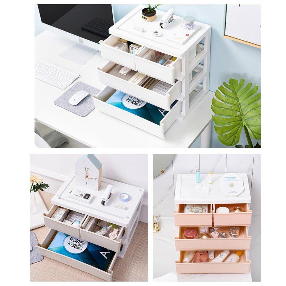 ZAIYI Bücherregal Desktop-Organizer Einfache Kunststoff-Schublade Kunststoff-Schublade Kunststoff-Schublade Organizer Lagerregal Storage Organizer,Blau-TwoFloors B07CTJ6VZL | Hervorragende Eigenschaften  3713e4