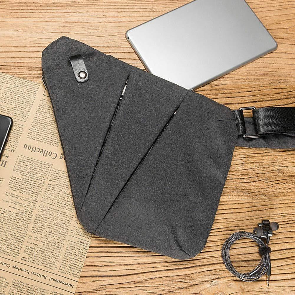 HAZUN Waterproof Personal Shoulder Pocket Bag Anti Theft Compact Shoulder Cross body Travel Bag